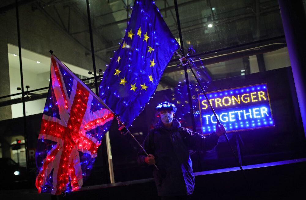 Suurbritannia-EL-i läbirääkimistel tehakse viimane katse kaubanduskokkuleppeni jõuda
