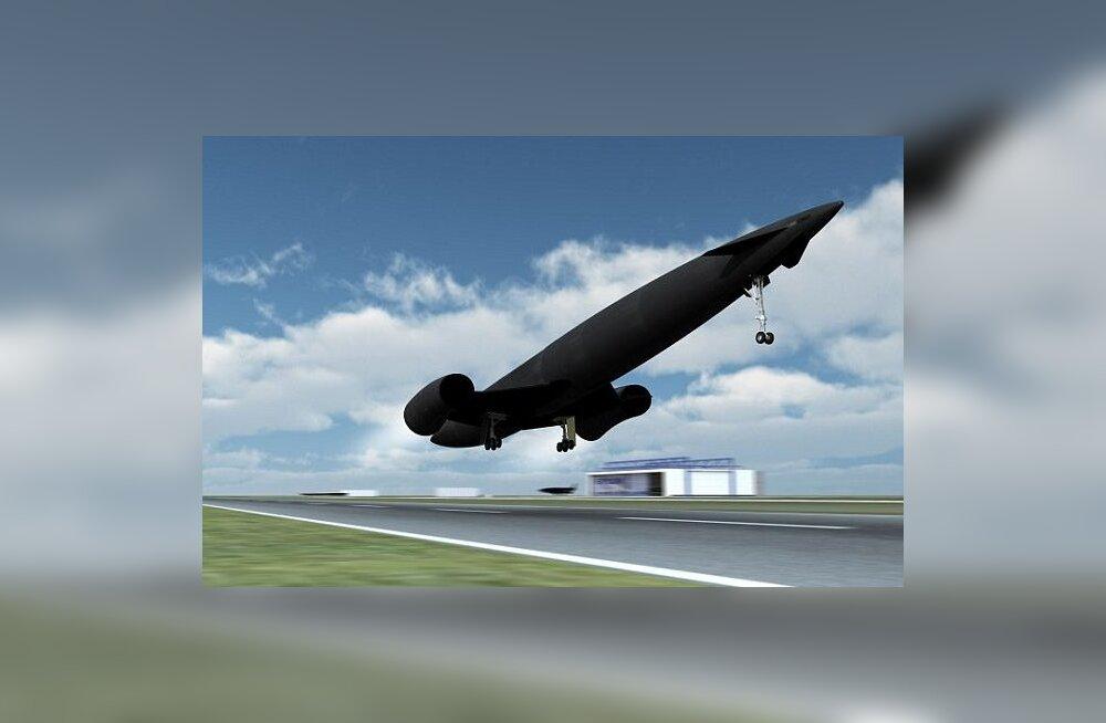 90-meetrine Skylon võtab pardale 30-40 reisijat