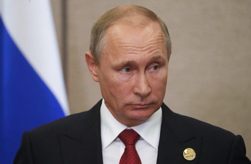 Putin: Põhja-Korea-vastased sanktsioonid ei muuda midagi, sõjahüsteeria õhutamine võib viia ülemaailmse katastroofini