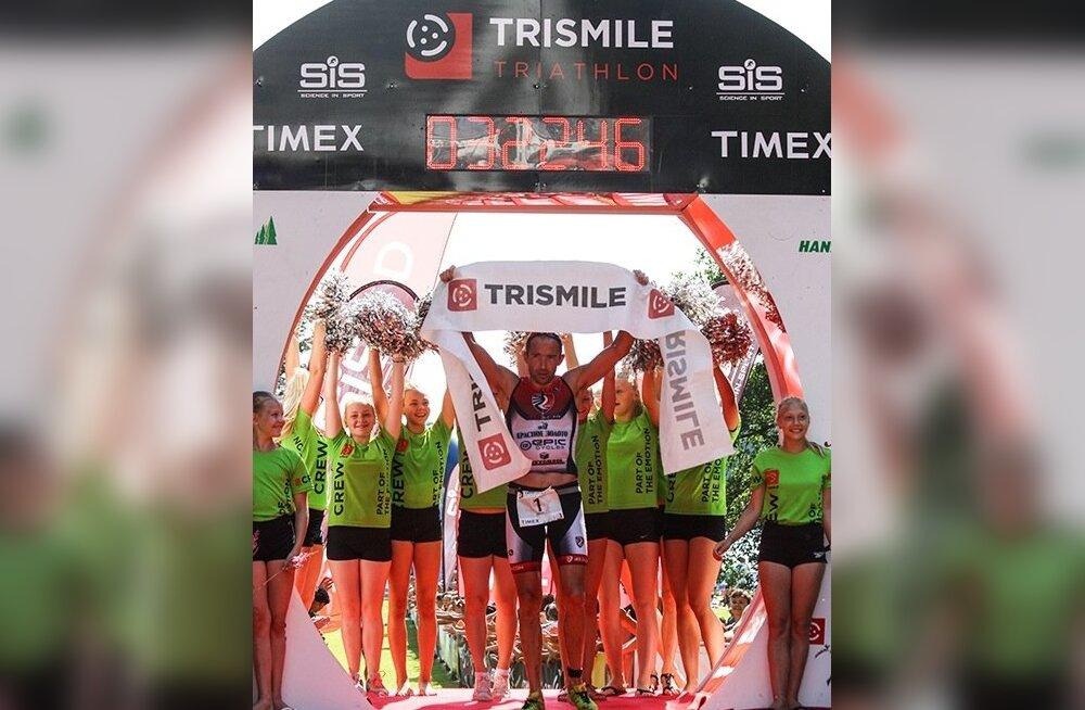 Pühajärve TriSmile triatloni võitja Viktor Zyemtsev