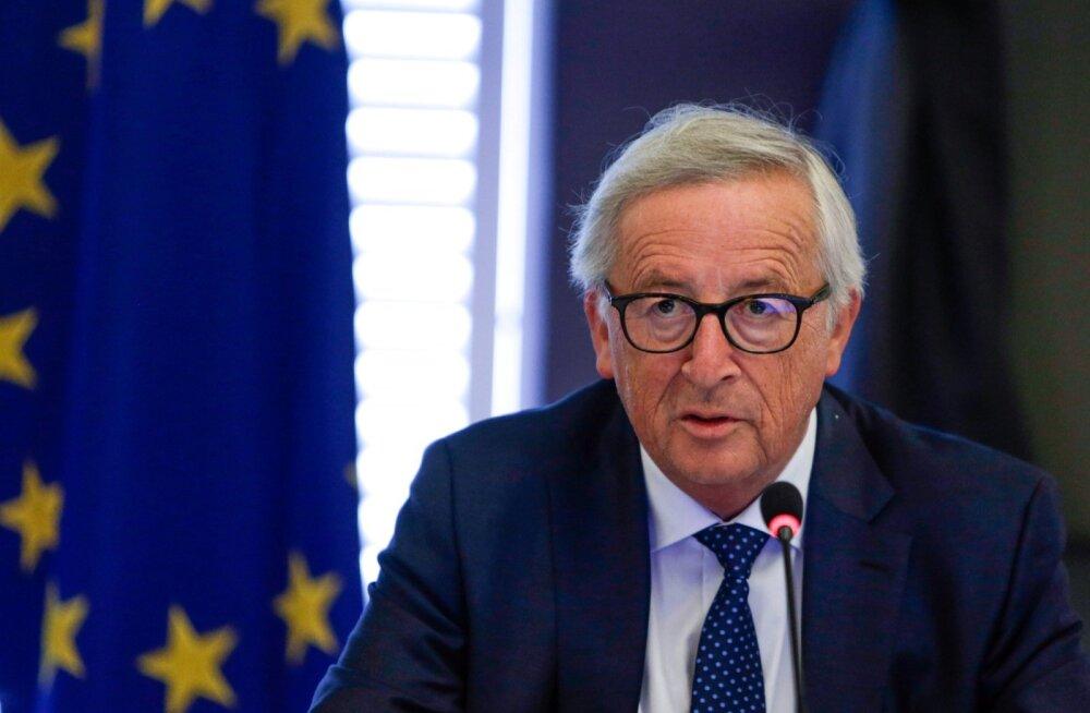 VIDEO ja BLOGI | Euroopa Komisjoni president Juncker esines kõnega olukorrast Euroopa Liidus