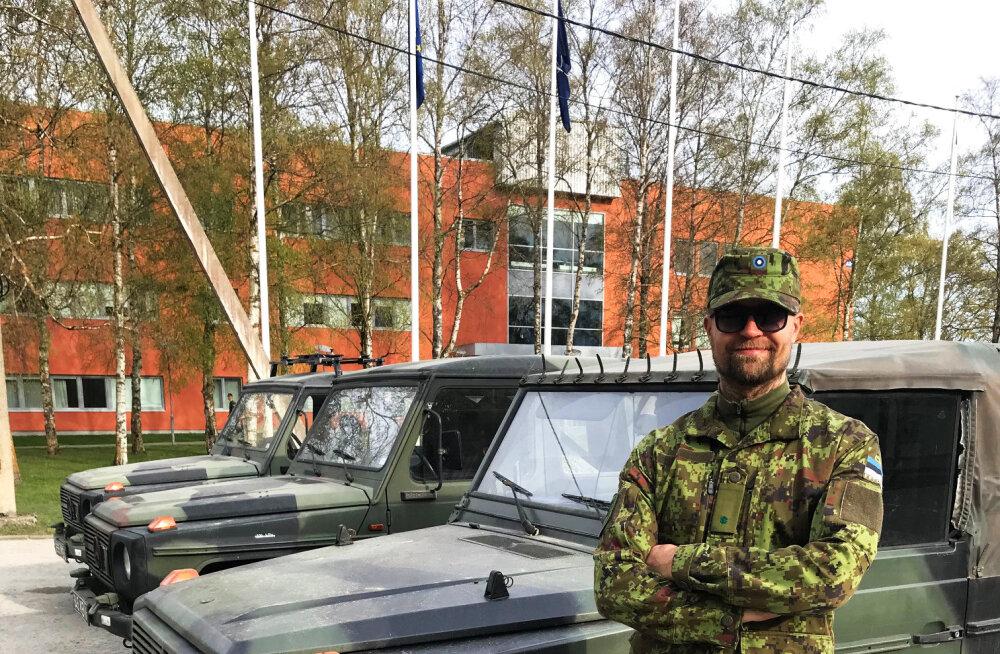 Brasiiliast Kevadtormile tulnud kaitseväelane: kui kodumaa kutsub, tuleb ikka minna