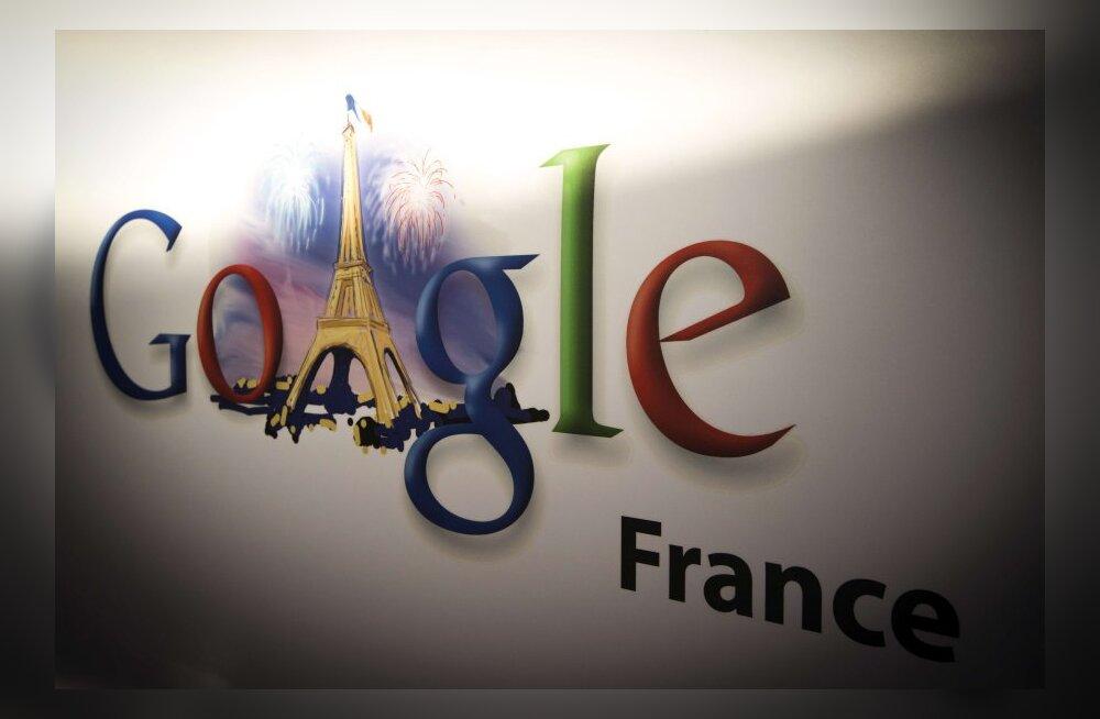 Google sai Prantsusmaa andmekaitselt 150 000 eurot trahvi