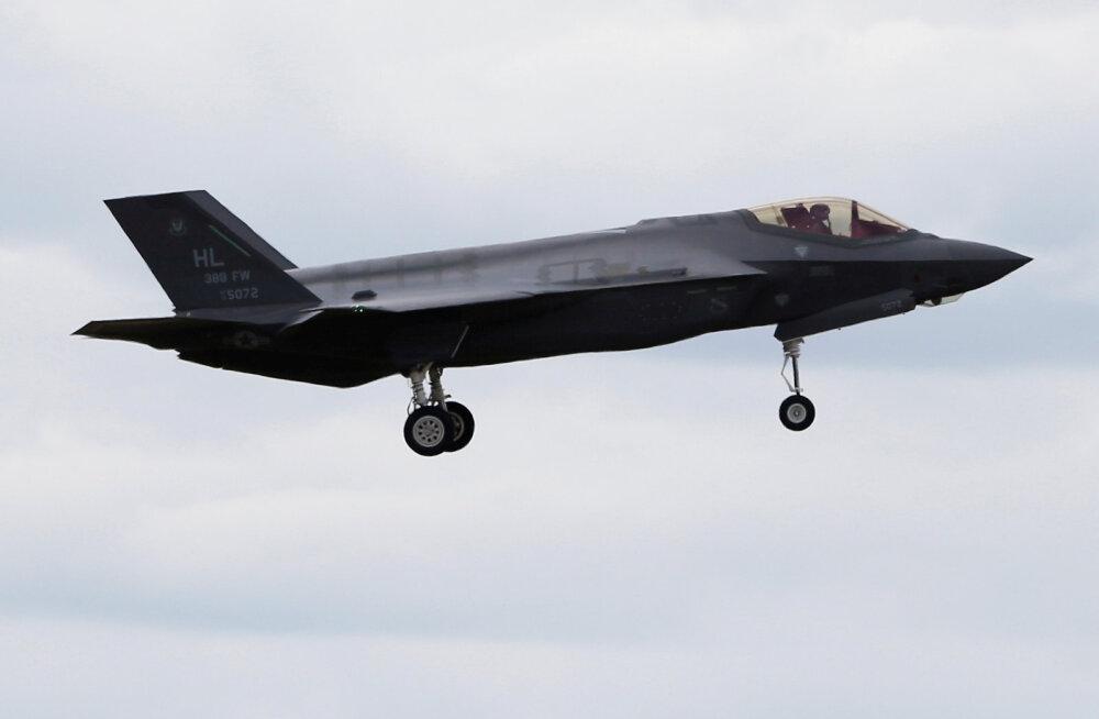 Poola kavatseb osta 32 hävituslennukit F-35A