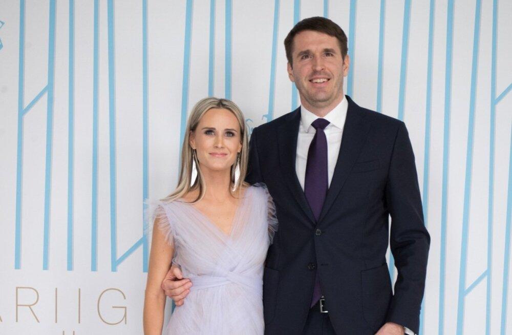 Riigikogu liige Rainer Vakra ja Marilin Look