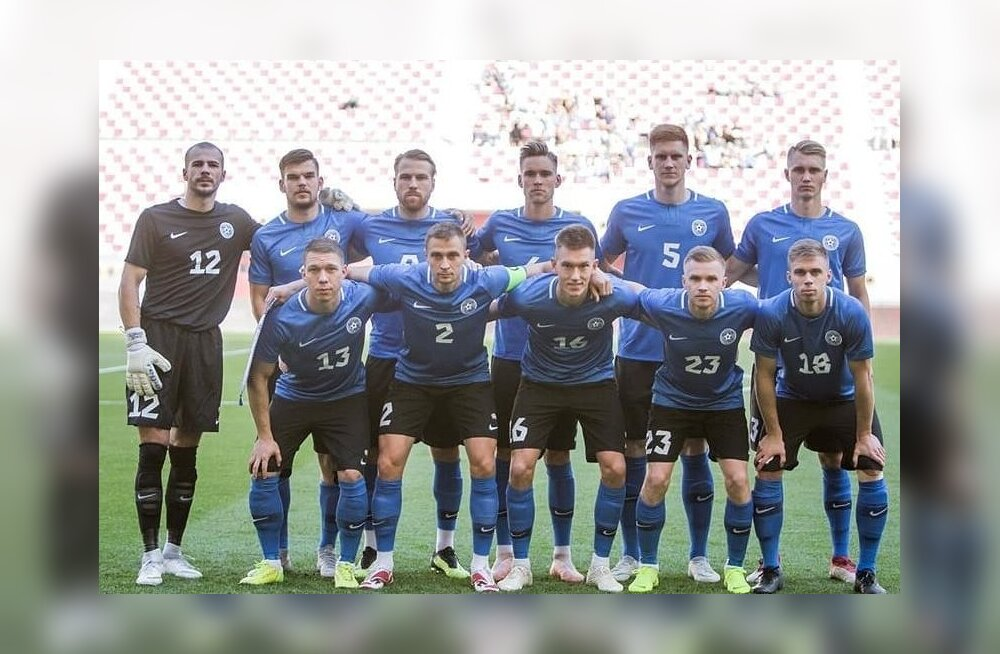 Eesti jalgpallikoondise algkoosseis mänguks Soomega.