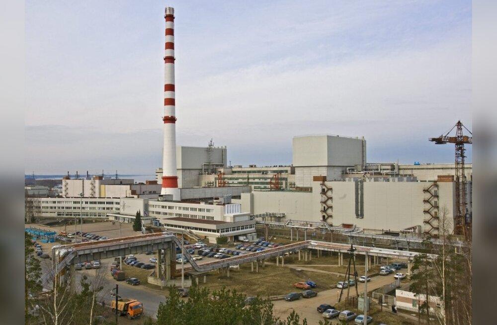 Automaatika seiskas Sosnovõi Bori tuumajaama energiabloki