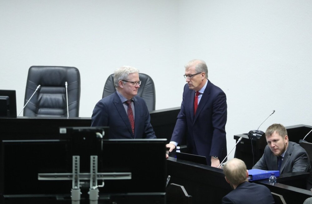 ФОТО: Началось предварительное заседание по делу о взяточничестве в Tallinna Sadam