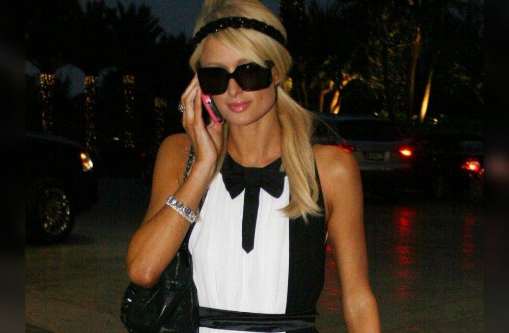 Paris Hilton peidab kokaiini vagiinasse