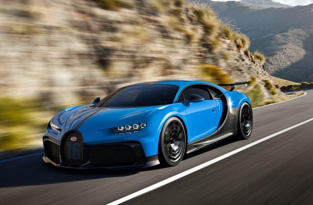 Bugatti pani Chironi sõsarmudeli plaani ootele