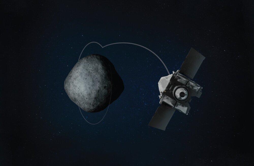 NASA sond tiirleb asteroidile rekordlähedal