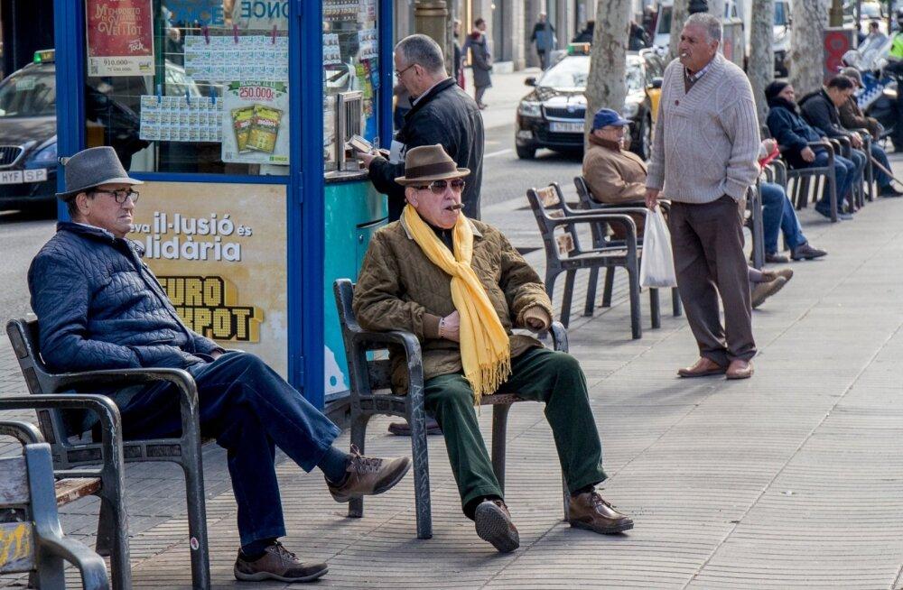 Iseseisvuslased Barcelonas La Ramblal