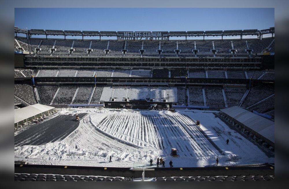 Pühapäevane Super Bowl ähvardab tulla kõigi aegade külmim