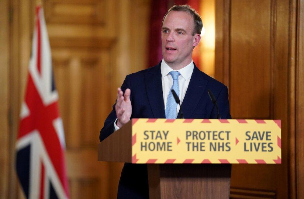 Suurbritannia juhtimise sai Johnsoni töövõimetuse ajaks oma õlule 46-aastane välisminister Dominic Raab