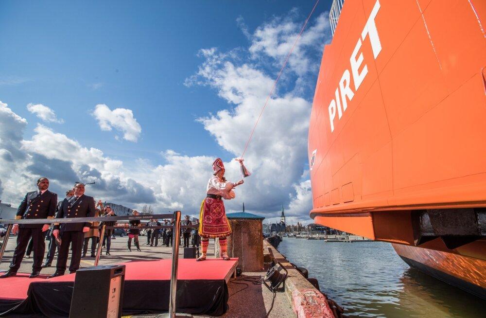 Parvlaev Piret oli jaanuarikuus kõige töökam TS Laevade laev.