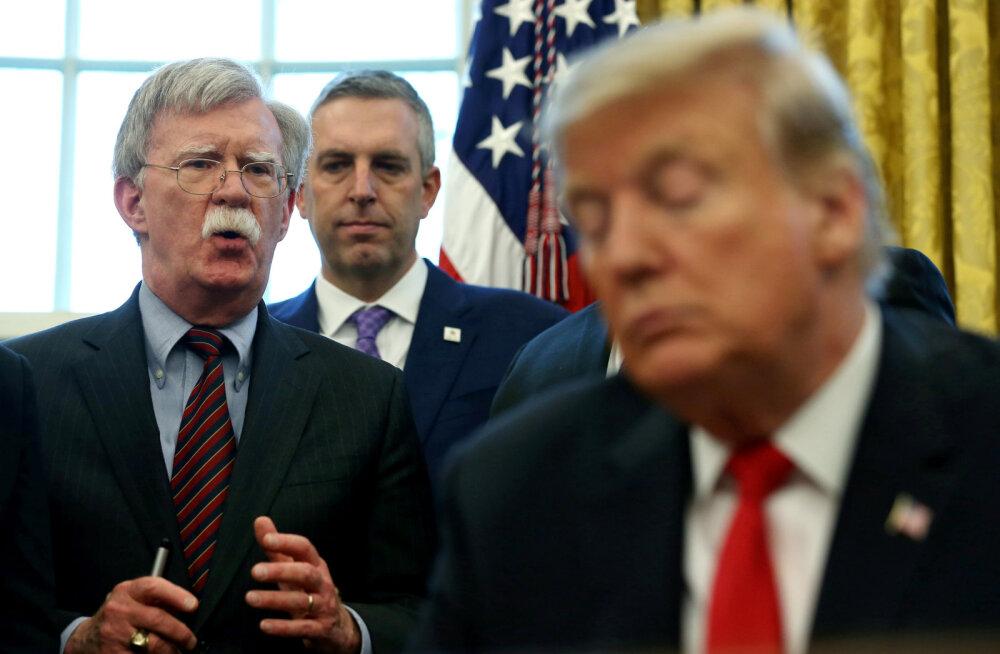 """Trump: """"härra Kõva Mees"""" Bolton tegi """"väga suuri vigu"""""""