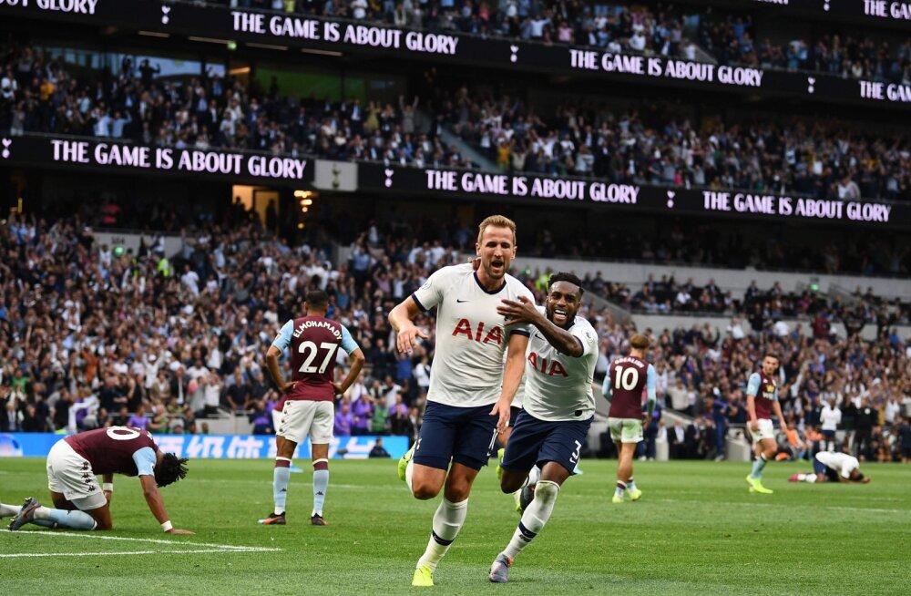 Harry Kane'i hilised väravad tõid Tottenhamile raske võidu