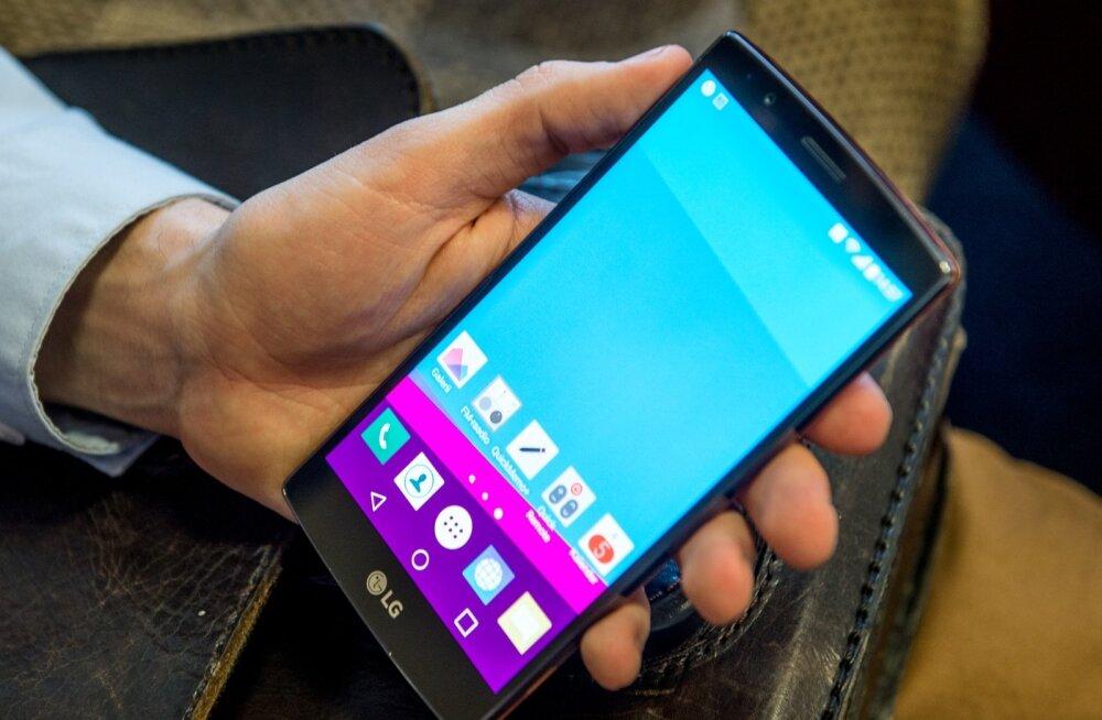 LG mobiiltelefon