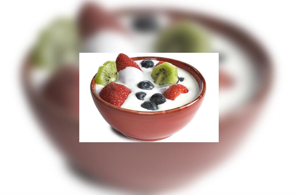 Seedimist soodustav jogurtijook võib põhjustada ülekaalulisust