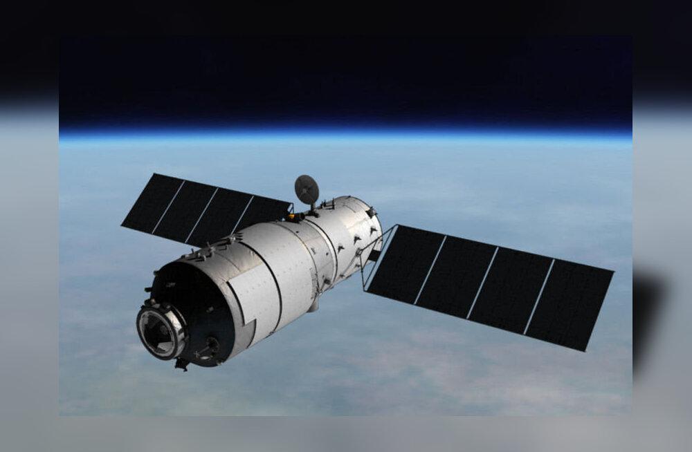 Hiinlaste kontrolli alt väljunud kosmosejaam prantsatab ilmselt peatselt pirakate tükkidena maale