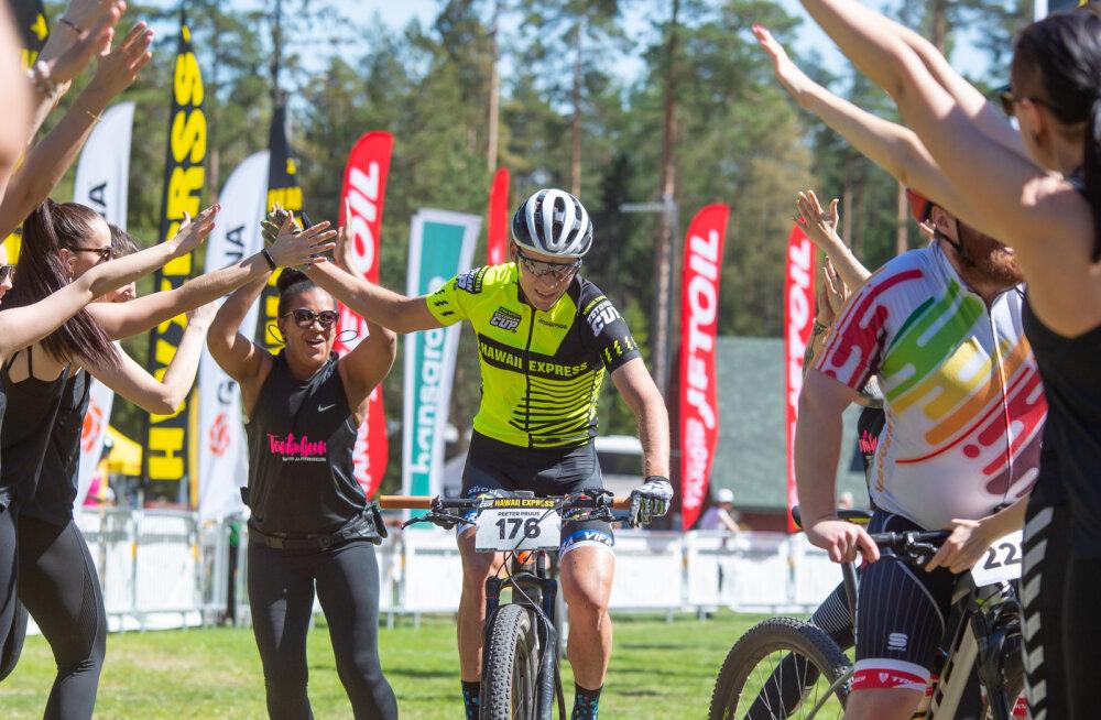 Valgehobusemäe rattamaratoni võitsid Peeter Pruus ja Janelle Uibokand
