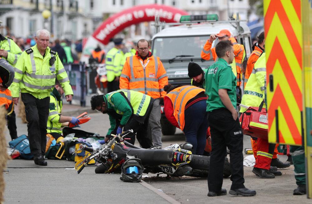 Walesi ralli viimane katse lükkus edasi, sest laps sai mootorrattaõnnestuse tagajärjel eluohtlikult vigastada