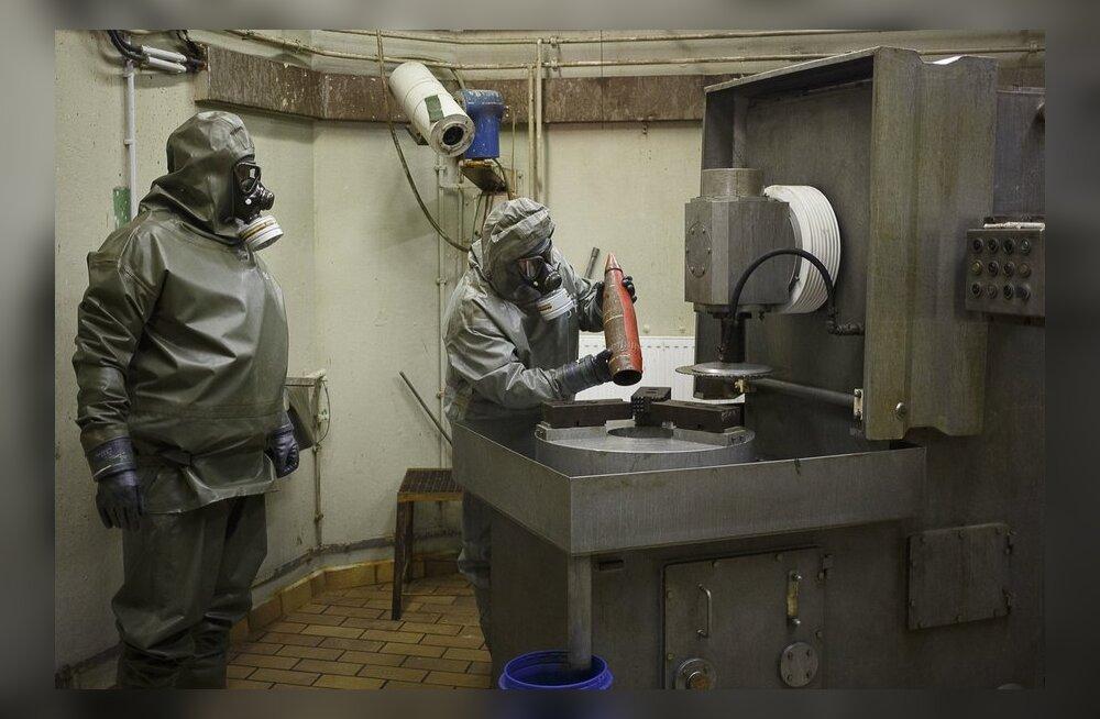 OPCW: Süüria keemiarelvi on võimalik hävitada merel