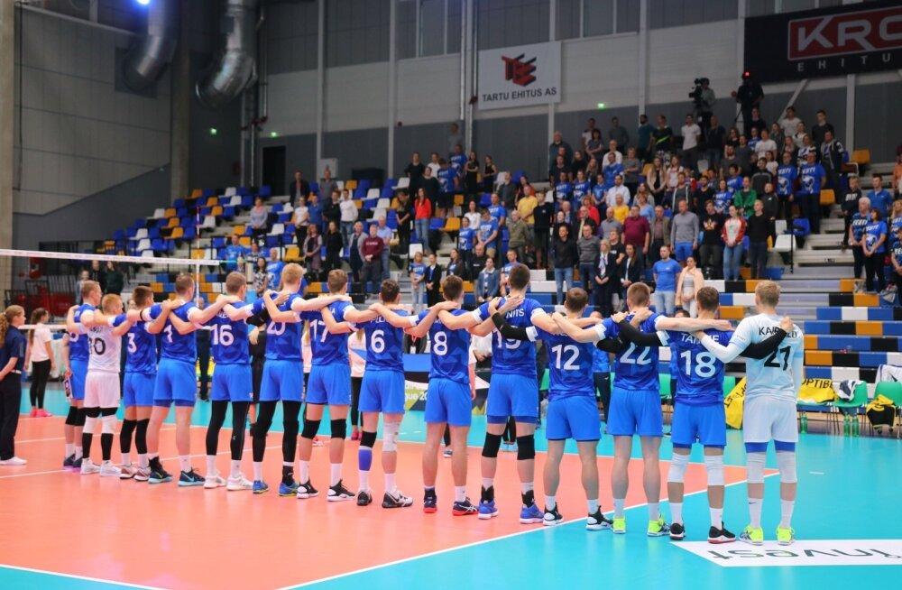 Eesti-Holland meeste võrkpall, Tartu, juuni 2019