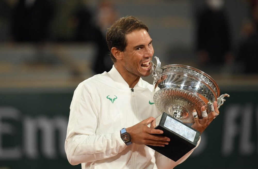 Liivaväljakute kuningas Rafael Nadal