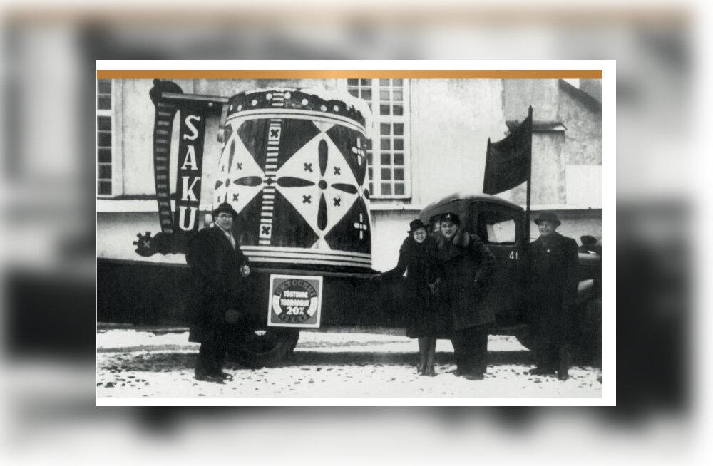 Saku 195: nõukogude ajal pruuliti õlut auruveduri ja õmbluspoest ostetud mõõdulindi toel