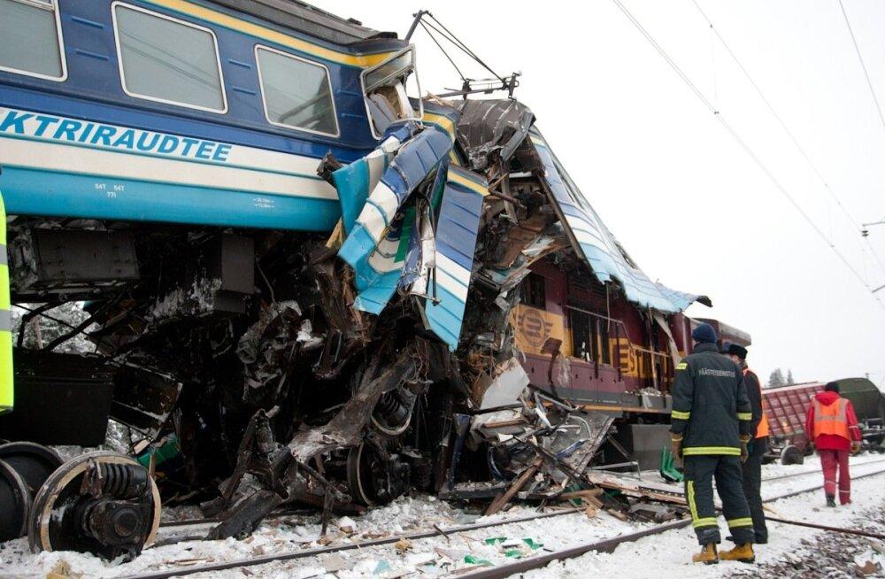 Kohus arutab kurikuulsa rongiõnnetuse üle tänaseni: kindlustaja tahab raha tagasi