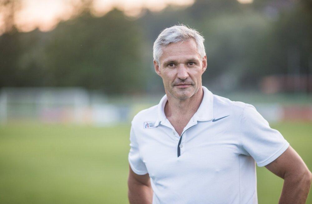 Olümpiavõitja Erki Nool.