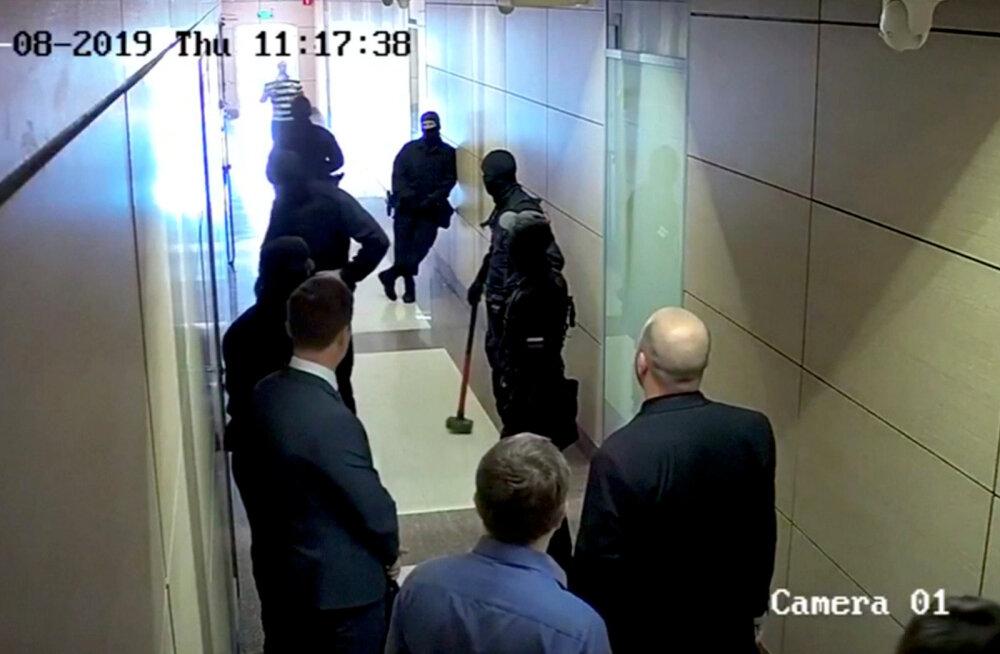 Navalnõi fondi koordinaatorite juures toimusid läbiotsimised 33 Venemaa linnas