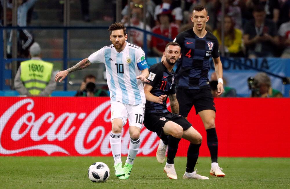 Lionel Messi tegi MM-i ajal kõikidele Horvaatia koondislastele salajase žesti