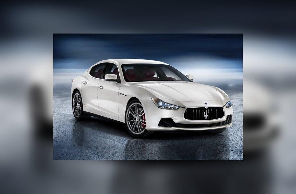 Maserati Ghibli - esimene diiselmootoriga Maserati