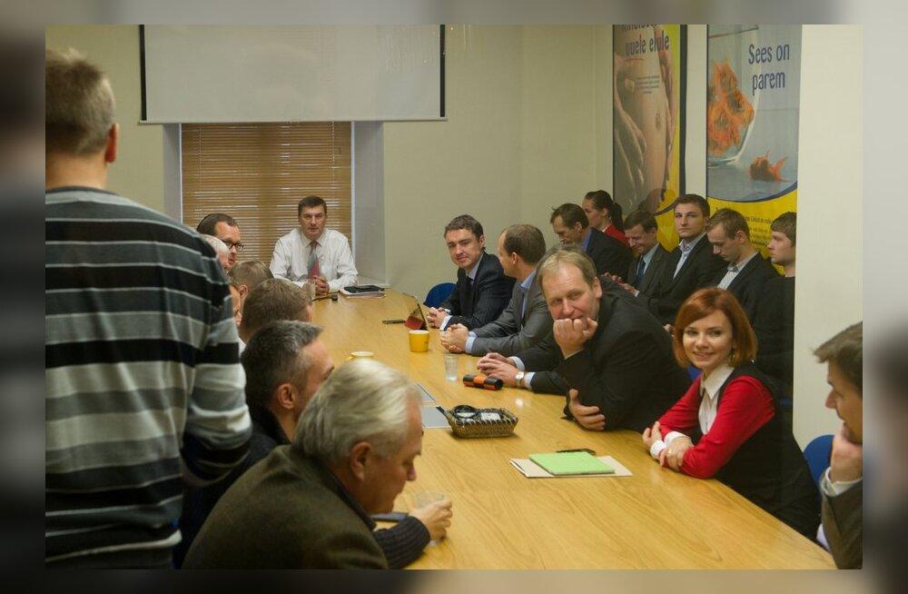 Reformierakonna juhatuse istung