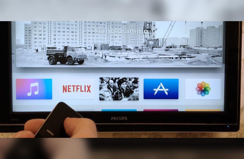 Esimene Eestis toodetud Apple TV äpp näitab meie kunagist elu raudse eesriide taga