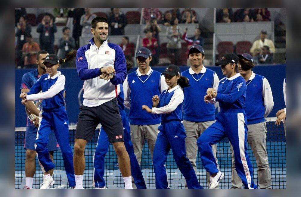 VIDEO: Novak Djokovic tähistas Pekingi võitu Gangnami stiilis