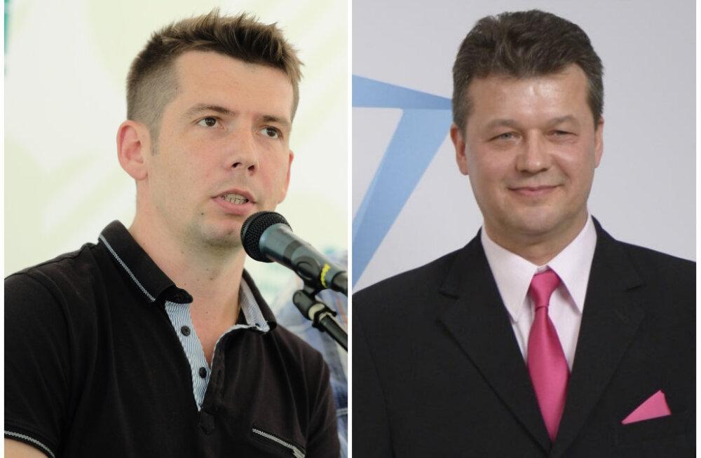 Eesti on väike: Deniss Boroditši asemel läheb riigikokku Aivar Surva, kes koos Martin Repinskiga Jõhvis senise võimuliidu kukutas