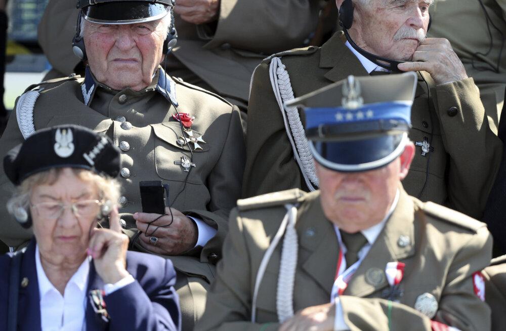 DELFI POOLAS | Ilmasõja 80. aastapäeval Varssavis olid kohal 40 riigi esindajad, Venemaad mainiti vaid negatiivselt