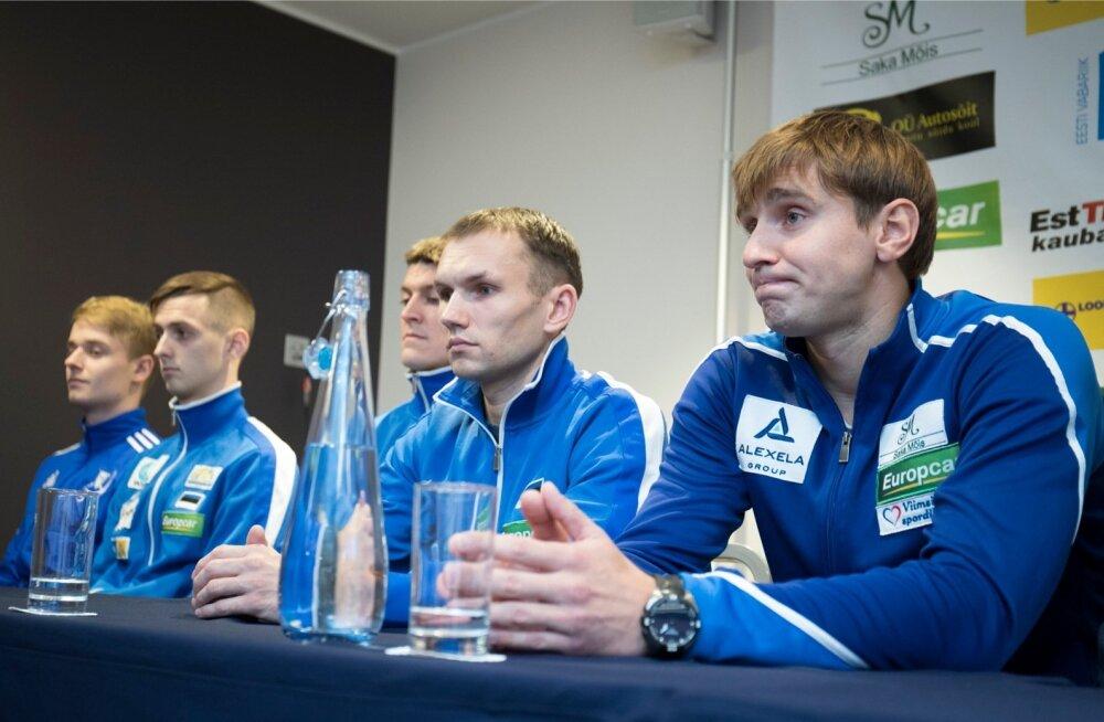Eesti vehklemismeeskonna uus peatreener Novosjolov