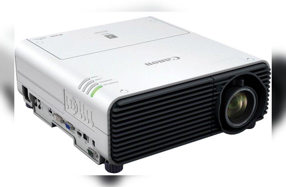 TEST: Canon XEED WUX500 – võimsa projektoriga valges juuniöös