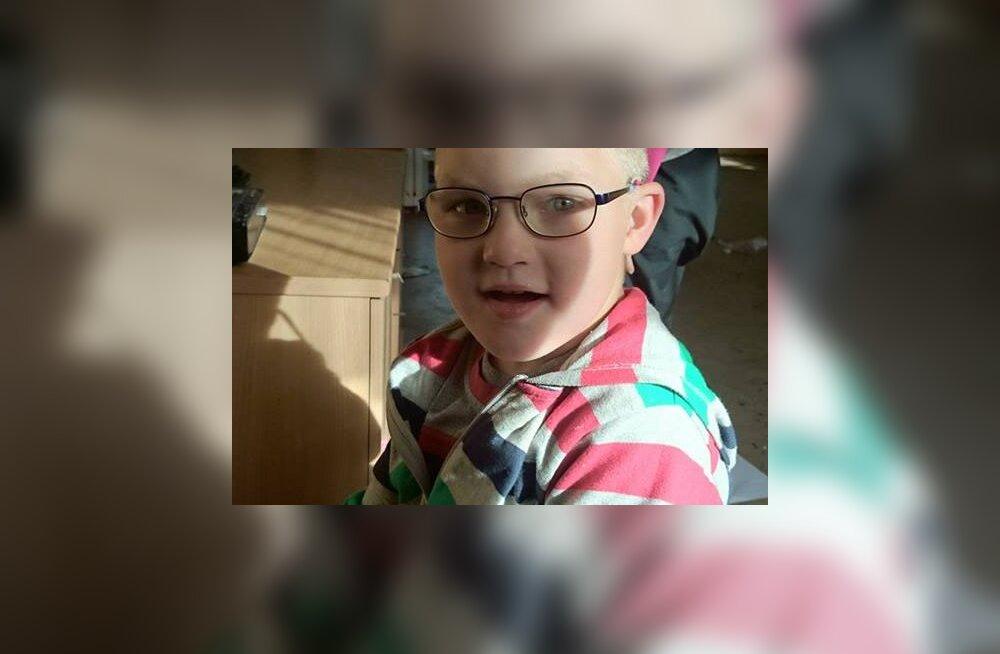 Haruldase geenihaigusega 5-aastane poiss saab erilasteaeda minekuks toetust