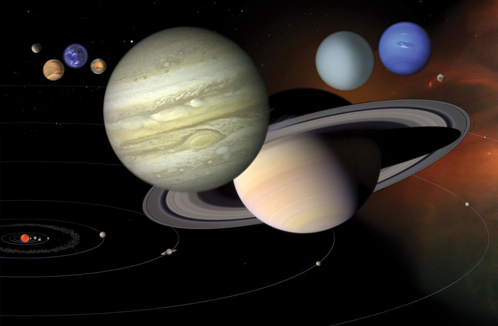 Meie kandi vanake: Päikesesüsteemi eakaima planeedi sünniaeg on nüüd kindlalt teada
