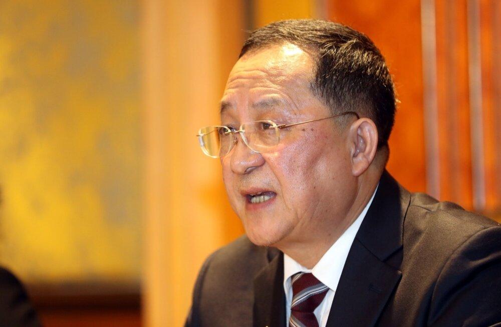 Põhja-Korea välisminister: meie seisukoht ei muutu, isegi kui USA jälle läbirääkimisi pakub