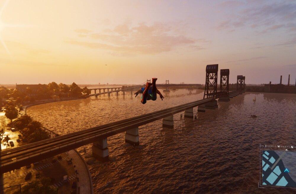 FORTE MÄNGUARVUSTUS   Marvel's Spider-Man (PS4) – tempokas, kaunis ja legenditruu märulseiklus