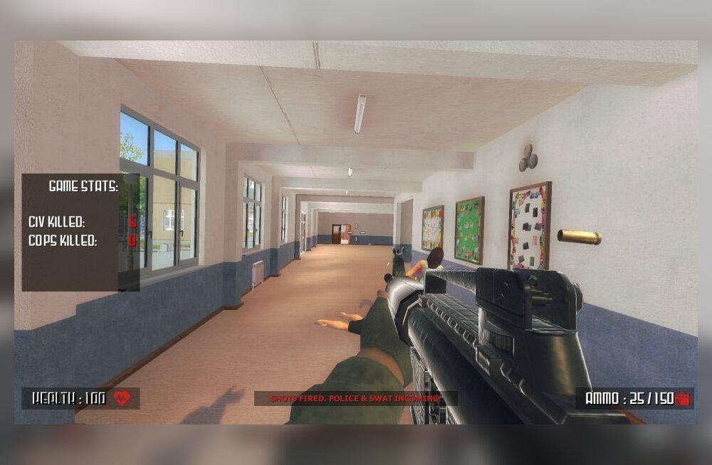 Parklandi kooli ohvrite vanemad on marus: juunikuus lastakse välja arvutimäng, mille mängijatel on võimalik relvaga kooliruumides vastaseid maha kõmmutada