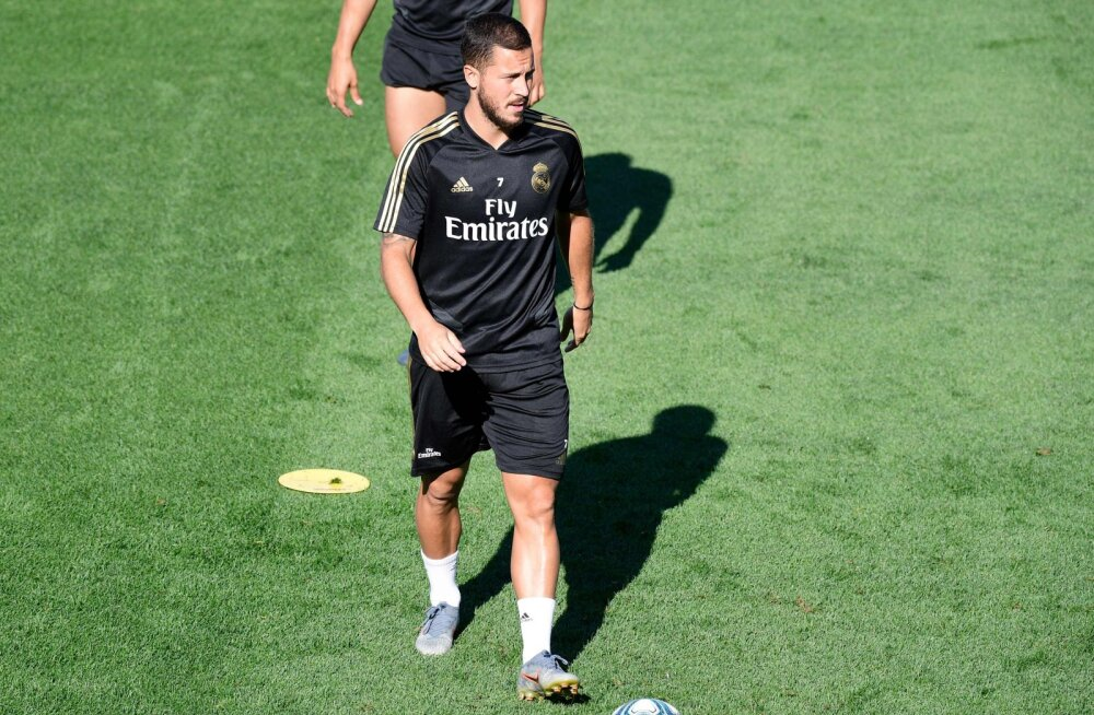 Eden Hazard sai vigastada, debüüt Reali särgis lükkub edasi