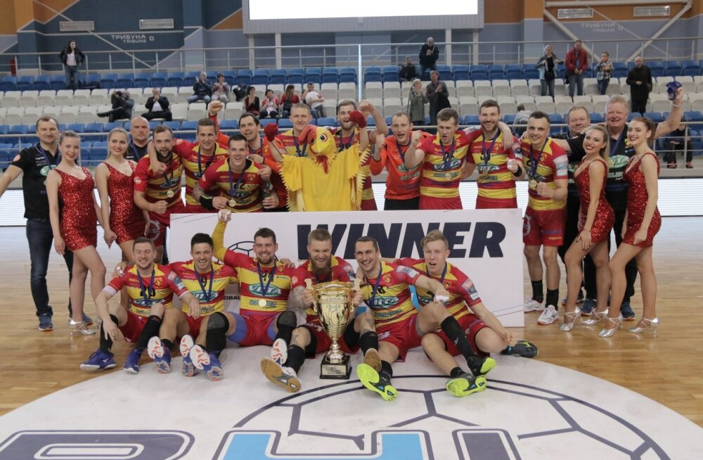 Käsipalli Balti liiga võitis neljandat aastat järjest Soome klubi