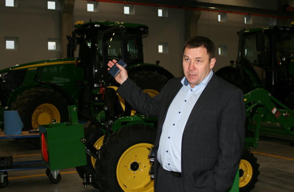 Vilja- ja tehnikafirma Baltic Agro seab end sisse uues esindushoones